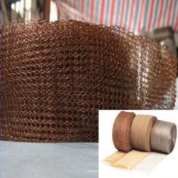 Tela de rede de arame de malha de cobre para filtro