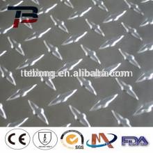 Feuille en aluminium gaufré à faible prix de qualité supérieure