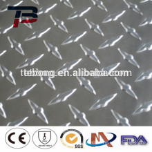 Superior quality low price embossed aluminum sheet