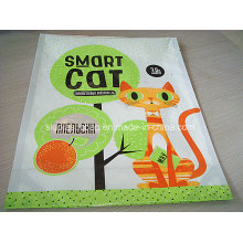 Printed Vivid Flat Bottom Stand up Pouch for Cat Smart Packing