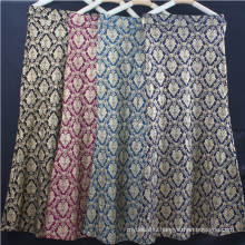 Hot selling summer women dress retro hot stamping flower pattern muslim dress