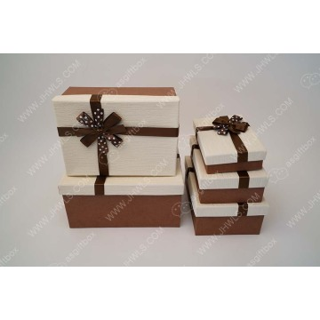 Ribbon bow candy box