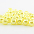 En gros plus de couleurs ronde artisanat lâche abs faux perles en plastique perles pour robe sacs chaussures nail art vêtement décoration