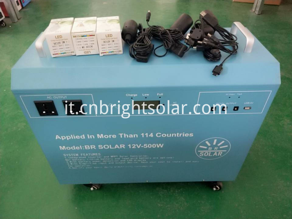 500W integrated inverter with controller