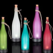 Botella de luz muebles decoración del hogar artesanía de vidrio de iluminación (b28.01)