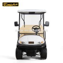 Tension de la batterie 48V et certification CE prix voiture de golf électrique avec coffre