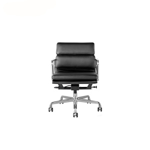Leather Upholstered Soft Pad Management Office Chair