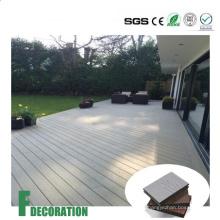 Reciclado compuesto de plástico de madera WPC impermeable suelo al aire libre
