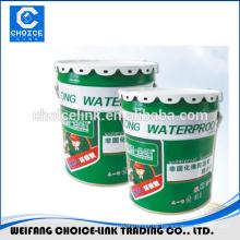 Gummi-Bodenfarbe PU Flüssigkeit Membran Abdichtung Beschichtung