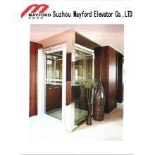 Maschinenloser Aufzug der Villa-400kg mit Glas