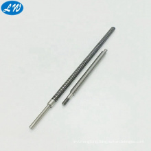 Customized long stainless steel lead screw axle shaft threaded rod from China factory