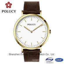 Men′s Oxford Classic oro rosa reloj de correa de la OTAN