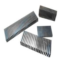 Aletas de alumínio de metal ondulado para intercooler