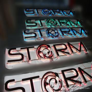 RGB Full Color Backlit Letter Sign Board