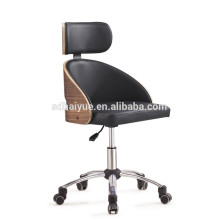 Best Seller Modern office Chair mid back lift swivel ergonomic PU office chair HY3008-1