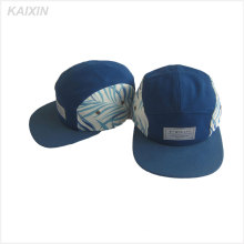 Custom-made 5 panel cap/5-panel camper hat/Custom logo 5 panel hat