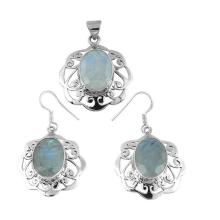 Shankar Silvex 925 Sterling Silver Jewelry Set
