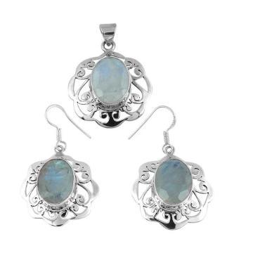 Shankar Silvex 925 Sterling Silver Jewelry Set