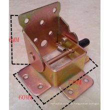 El metal del OEM que sella la tabla que dobla conecta la pieza para el uso de los muebles