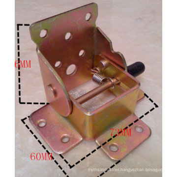 OEM Metal Stamping Table Folding Connect Part for Furniture Use