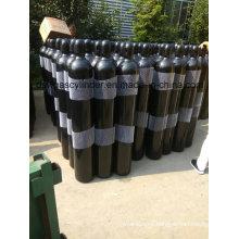 Gas de helio de alta presión al 99.999% llenado en cilindro de 5 l, válvula Qf-2