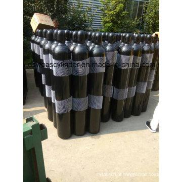 99,999% gás de hélio de alta pressão preenchido em 5L cilindro, válvula Qf-2