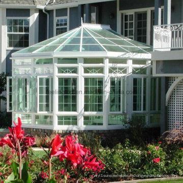 Precio de fábrica doble vidrio templado aluminio Sunroom (FT-S)