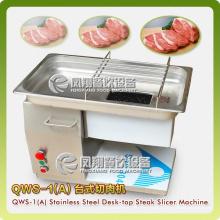 Tischplatte Fleisch / Hähnchen Streifen, Stücke Schneidemaschine