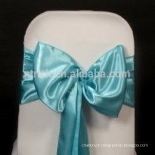 wholesale fancy Satin chair sash, chair ties, wraps for wedding banquet hotel