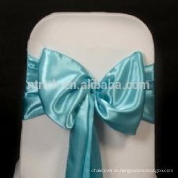 Großhandel schicke Satin Stuhl-Schärpe, Stuhl Krawatten, wickelt für Hochzeit Bankett hotel