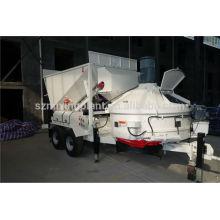Экспортный портативный мини-мобильный бетонный завод