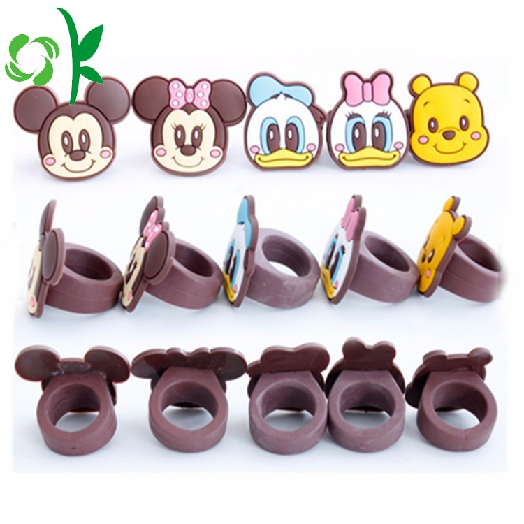 Cartoon Mickeys Rings