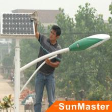 Dauerhafte energiesparende 30W IP66 Solar-LED-Straßenlaterne-Lampe