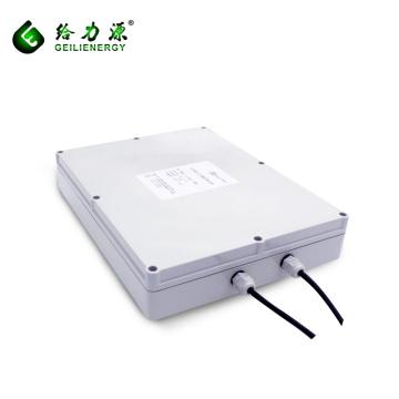 Precio de fábrica 24 v 100ah ciclo profundo batería de iones de litio solar banco solar del poder de la batería