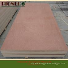 2.5mm-18mm Bintangor Plywood Panel for Decoration Purpose