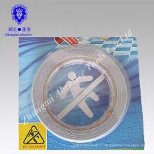2015 Chine usine en gros imperméable PVC / PET bande antidérapante pour l'escalier