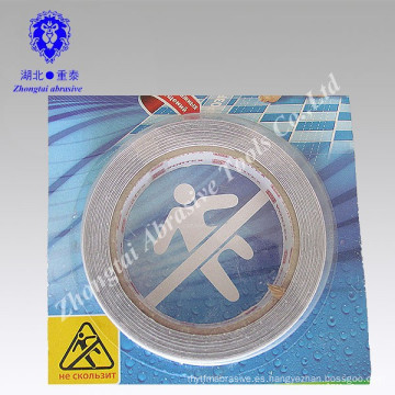Cinta antideslizante impermeable de la venta al por mayor de la fábrica de China PVC / PET 2015 para la escalera