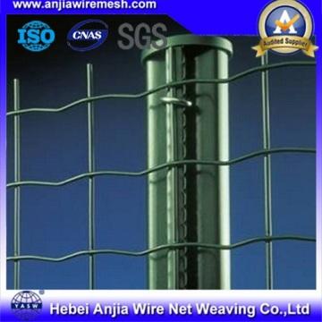 Clôture de stades galvanisés à chaud et revêtue de PVC avec SGS
