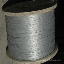 ASTM A475 galvanizado, fio de aço fio de fio de aço galvanizado