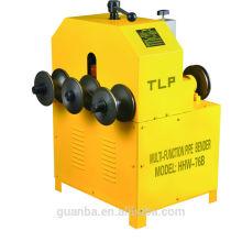 Plegadora de tubos rodantes Hongli HHW-76B para tubos de acero inoxidable