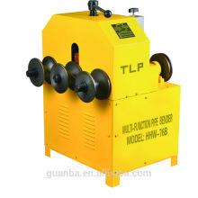 Machine à cintrer de tuyau de roulement de Hongli HHW-76B pour le tuyau d'acier inoxydable