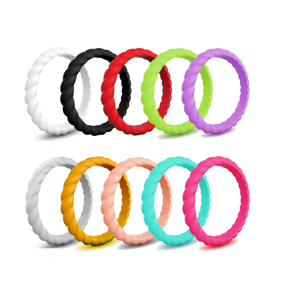 Silicone Spiral ring