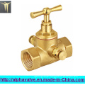 Brass Stop Valve for Water Fxf (a. 0149)