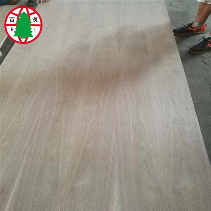 8mm Sapeli Veneer Commercial Plywood Sheet