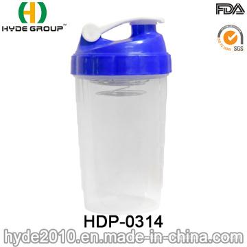 2016 индивидуальные Пластиковые белка шейкер бутылки, bpa бесплатно ПП встряхнуть флакон (ДПН-0314)