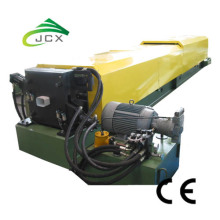 Rolling steel downpipe roll forming machine