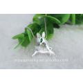 925 стерлингового серебра оптовые продажи оленей подвеска в качестве рождественского подарка
