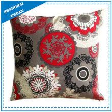Mandala Pattern Printed Polyester Throw Pillow