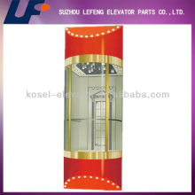 Round Design Observation Glass Lift
