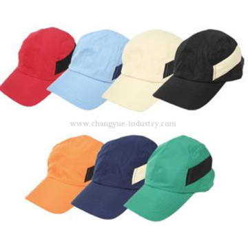 Polyester plain design casual sports cap